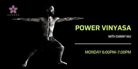 Power Vinyasa Yoga with Danny Wu tickets