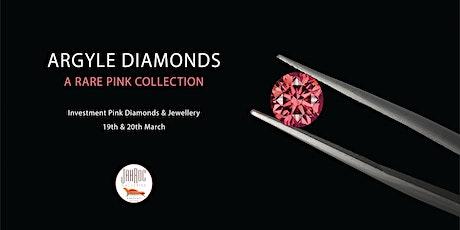 Argyle Diamonds – A Rare Pink Collection at JahRoc Galleries tickets