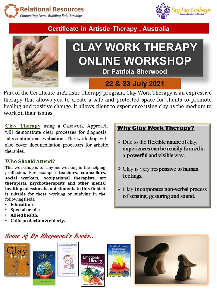 2 Days Clay Therapy Workshop image