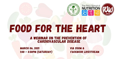 Food for the Heart: Prevention of Cardiovascular Disease tickets