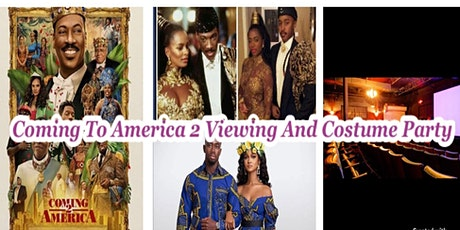 Coming to America 2 Viewing and Costume Party tickets