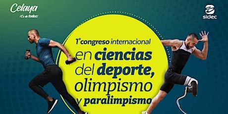 I Congreso Internacional en Ciencias del Deporte, Olimpismo y Paralimpismo. entradas