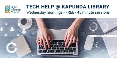 Tech Help @ Kapunda Library