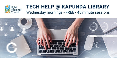 Tech Help @ Kapunda Library tickets