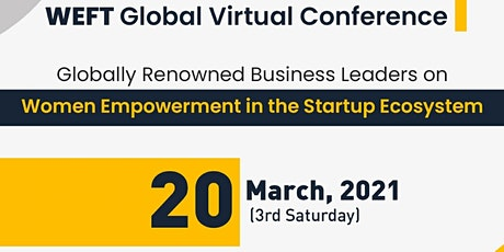 WEFT Global Virtual Conference START SOMETHING NEW tickets