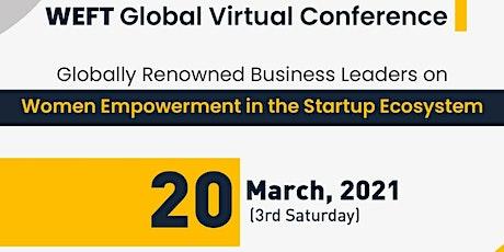 WEFT Global Virtual Conference START SOMETHING NEW ingressos