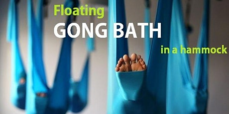 Floating GONG BATH in a hammock tickets