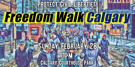Freedom Walk Calgary - OPEN UP the GYMS! tickets