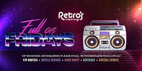 Friday Entry at Retro's Nightclub tickets