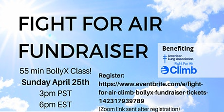 Fight for Air BollyX Fundraiser! tickets