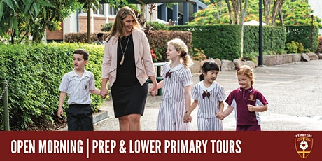 2021 Open Mornings - Prep & Lower Primary tickets