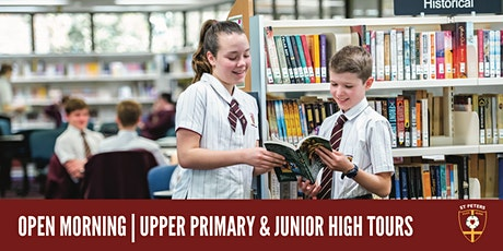 2021 Open Mornings - Upper Primary & Junior High tickets