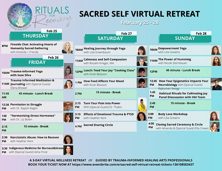 Sacred Self Virtual Retreat image