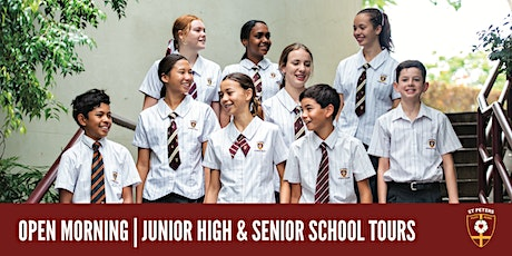 2021 Open Mornings - Junior High & Senior School tickets