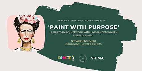 'Paint with Purpose' and celebrate International Women's Day 2021 tickets