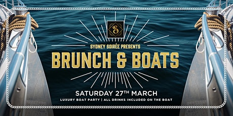 Soirée Presents - Brunch and Boats! (Girls Hosting) tickets