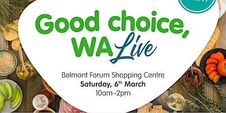 Buy West Eat Best Produce Showcase at Belmont Forum tickets