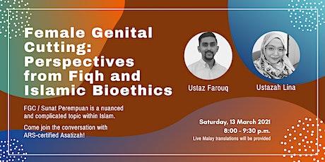 Webinar with asatizah (religious teachers)  on Female Genital Cutting tickets