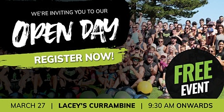 Lacey's Currambine Open Day Free Event tickets