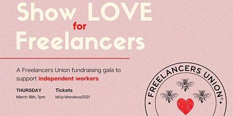 Show Love for Freelancers Gala tickets