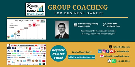 Group Coaching for Business Owners tickets