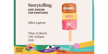 Storytelling and Design for Emotions tickets