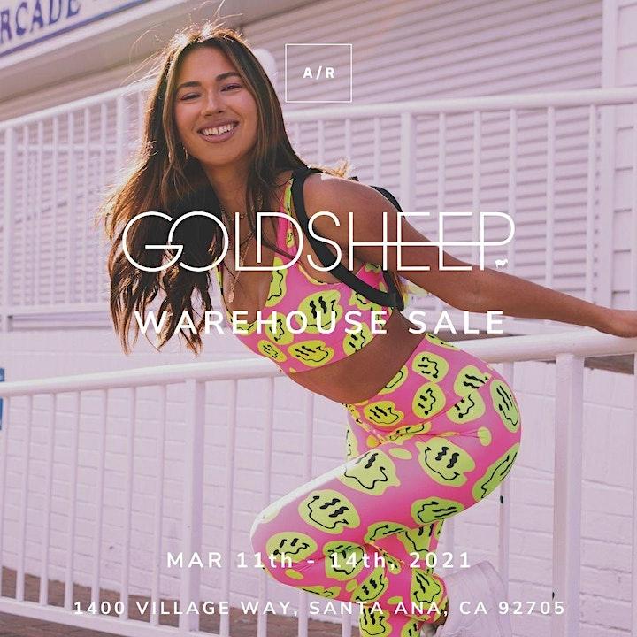 GOLDSHEEP Warehouse Sale - Santa Ana, CA image