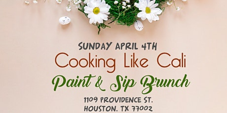 Paint And Sip Brunch (Spring Edition) tickets