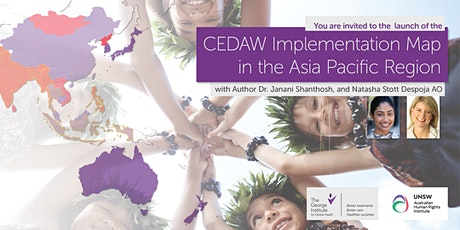 CEDAW Implementation Map in the Asia Pacific Region Launch tickets