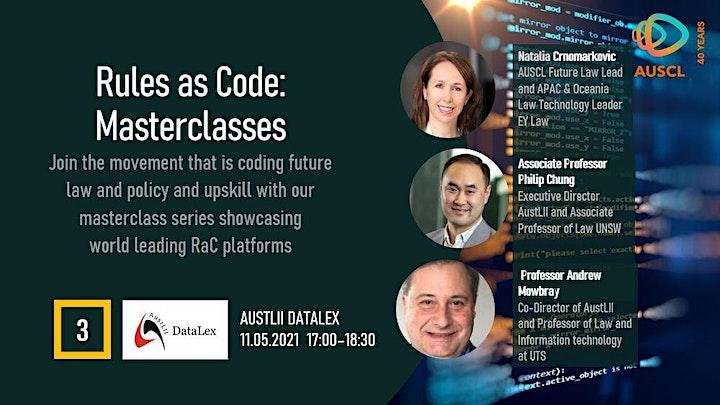 Rules as Code Masterclass 3 - AustLII DataLex image