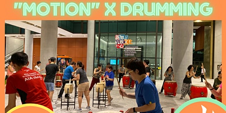 Motion x Drumming Class tickets