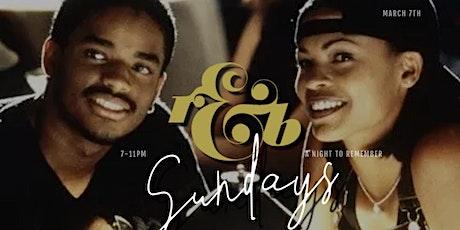 R&B SUNDAYS tickets