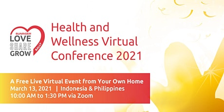 Health and Wellness Virtual Conference 2021 tickets