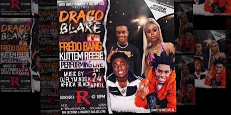 Fredo Bang & KuttEmReese live @ Draco Blake birthday bash tickets