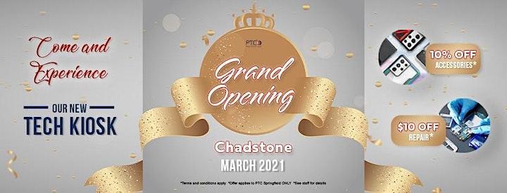 PTC Chadstone Grand Opening - FREE Techwrap image