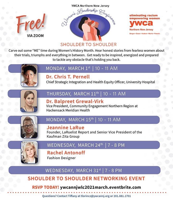 Women's Leadership Conference - March 2021 image