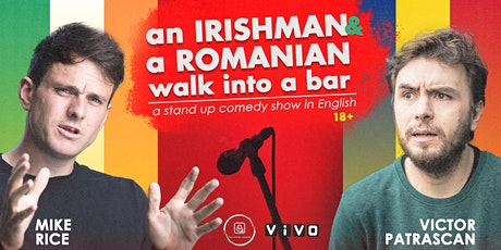 An Irishman and a Romanian walk into a bar  • Stand up Comedy in English tickets