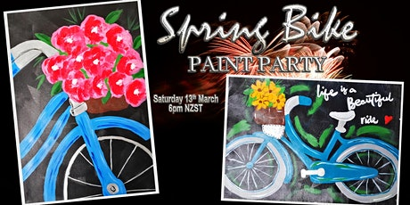 Spring Bike Painter's Choice Paint Party tickets
