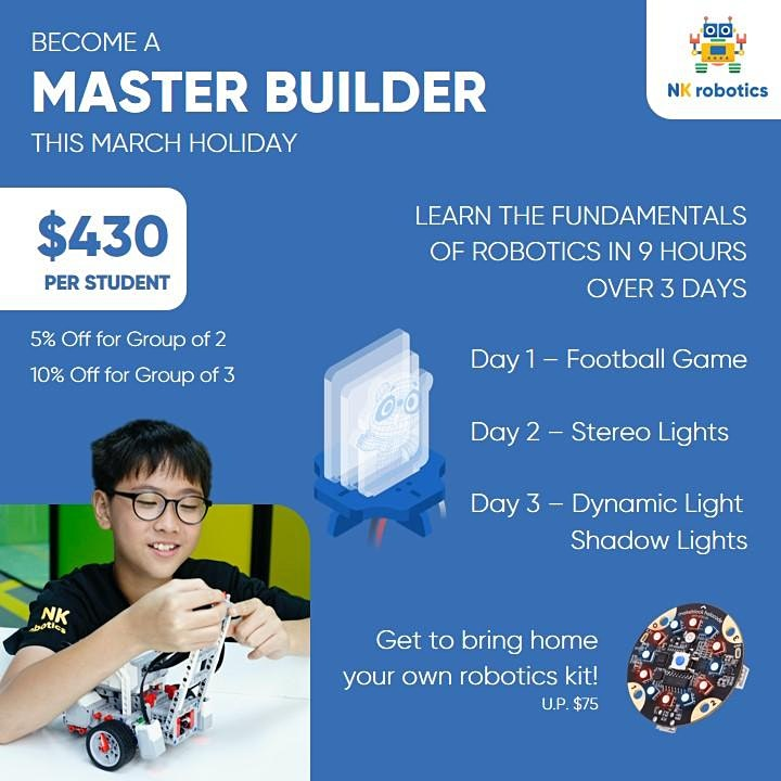 Master Builder 3-Day Holiday Programme image