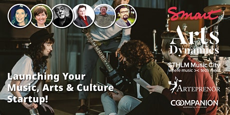 Launching Your Music, Arts & Culture Startup! tickets