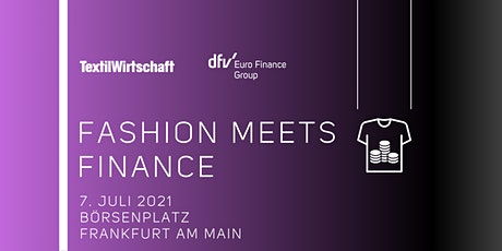 Fashion meets Finance tickets
