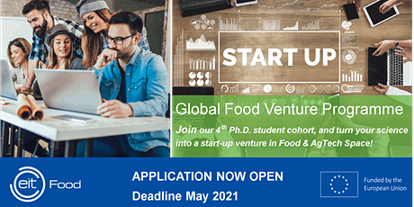 Global Food Venture Programme 2021 - Info Event for TUM PhD Students tickets