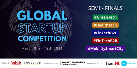 Global Startup Competition 2021 Semi-Final tickets
