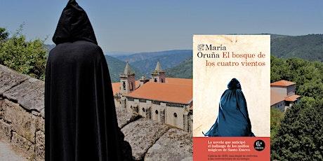 """Presentación del libro: """"El bosque de los cuatro vientos"""", de María Oruña entradas"""