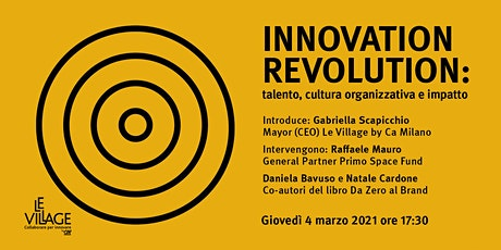 Innovation Revolution biglietti