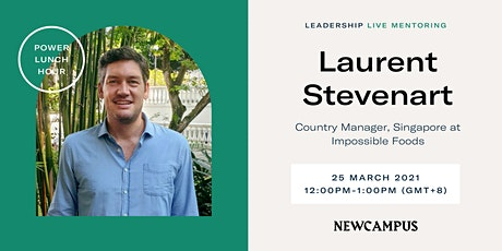 Virtual Mentoring | Power Lunch Hour with Laurent Stevenart tickets