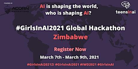 #GirlsInAI2021 Hackathon – Zimbabwe tickets