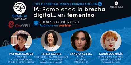 Webinar (AI Lead Talk): Rompiendo la brecha digital... en femenino entradas