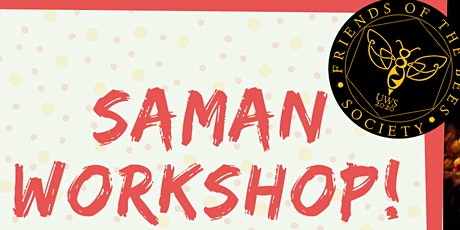 UWS SAMAN WORKSHOP - CULTURE WEEK! tickets