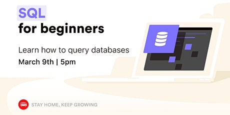 [Free workshop] Learn how to query databases with SQL tickets